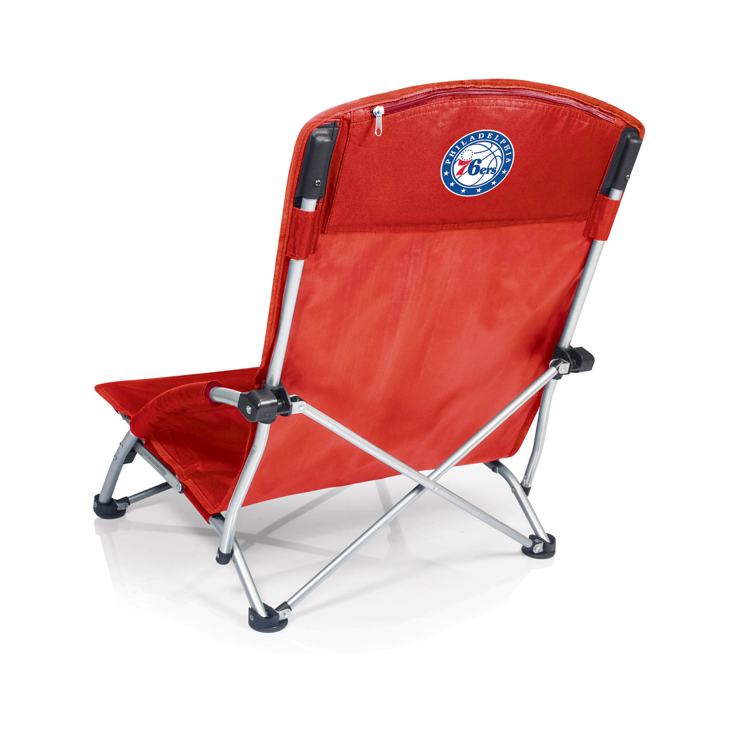 Philadelphia 76ers Red Tranquility Portable Beach Chair by Picnic