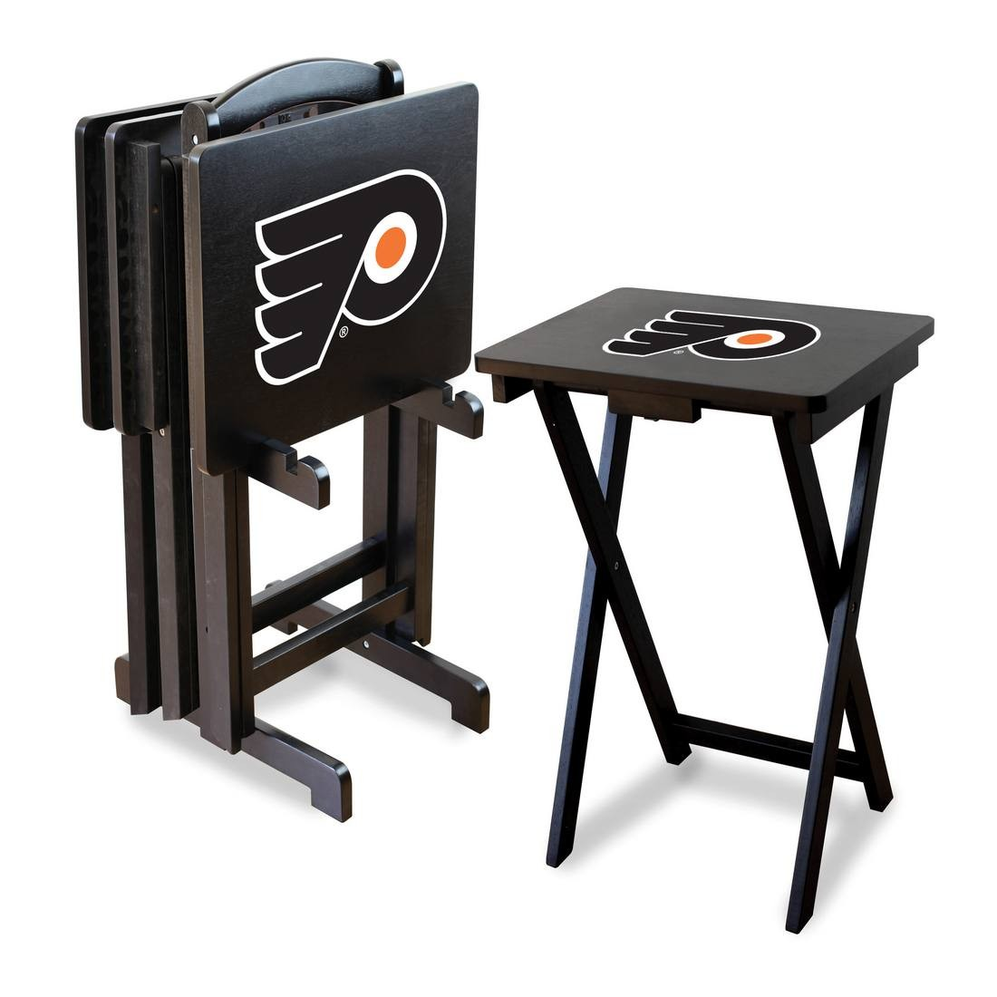 Philadelphia Flyers TV Snack Tray Set By Imperial   Wells Fargo Center    Official Online Store