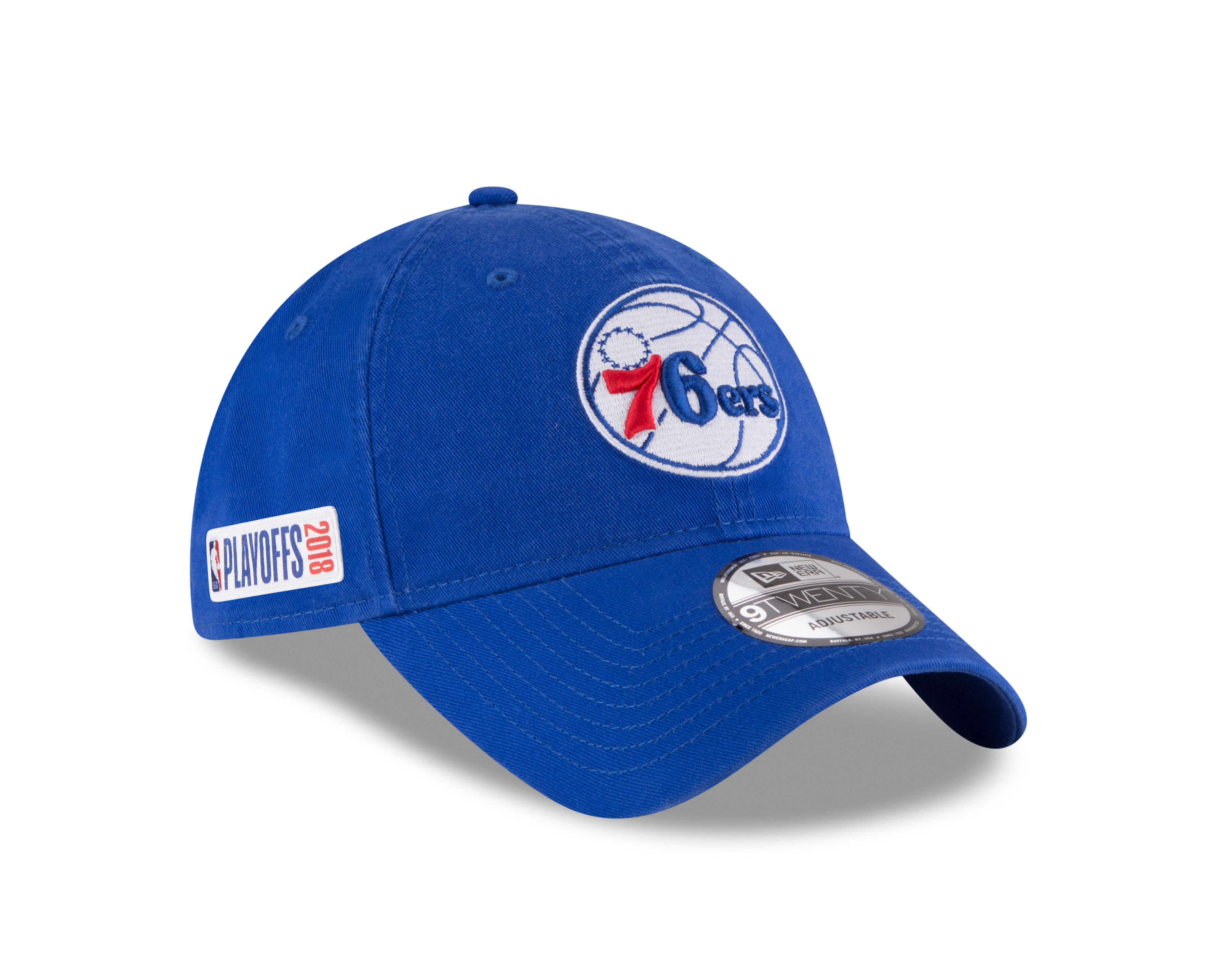 Philadelphia 76ers Men's 2018 NBA Playoffs 9Twenty Cap by New Era - Wells Fargo Center ...