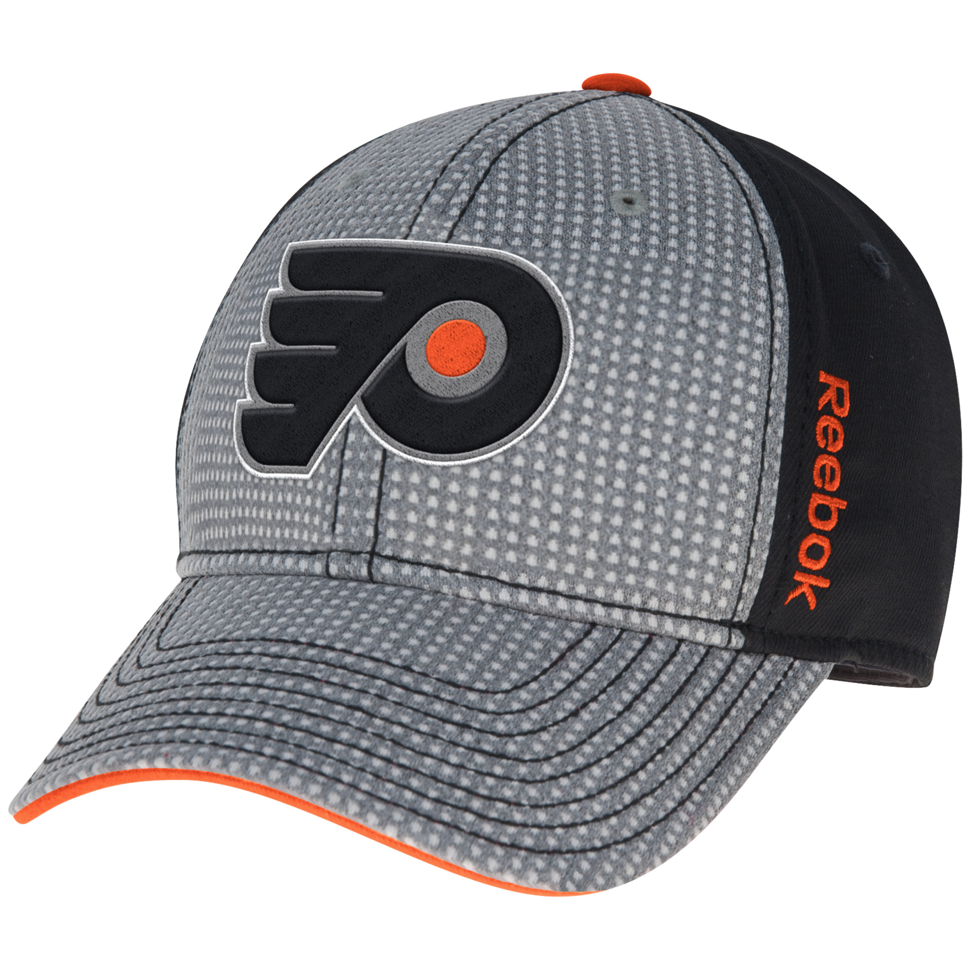 Philadelphia Flyers Men s Center Ice Fashion Structured Cap by Reebok 54abd96ab8fe