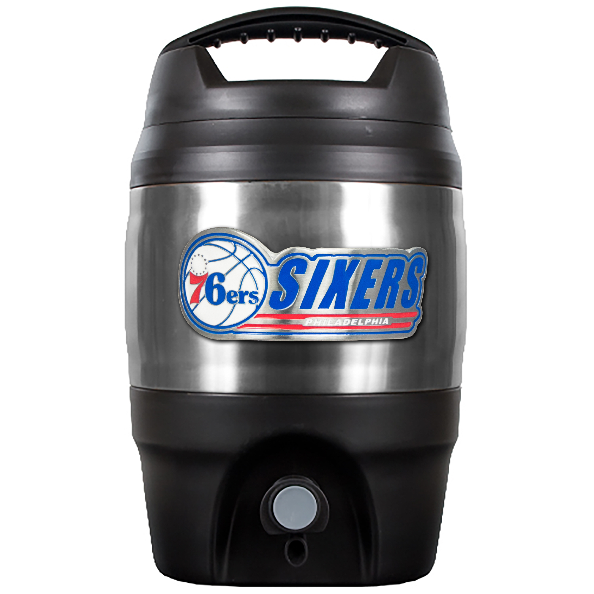 7b775401 Philadelphia 76ers Heavy Duty Tailgate Jug by Great American Products