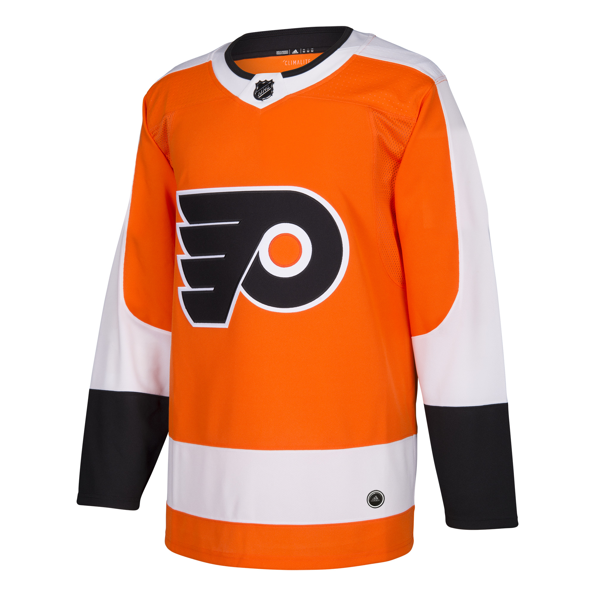 Philadelphia Flyers Men s ADIZERO Home Orange Jersey by Adidas ... 2db6a2e36