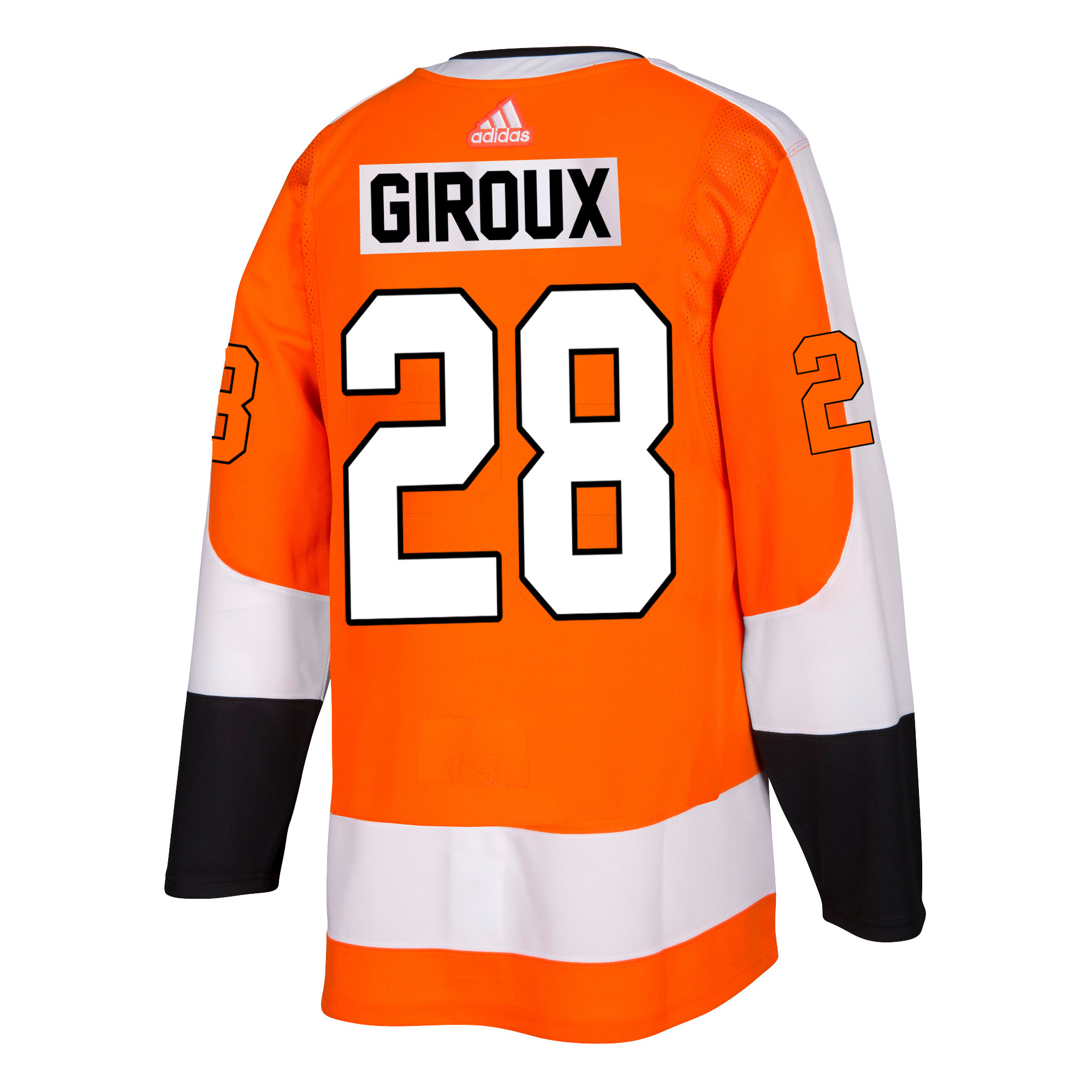 Philadelphia Flyers Men s ADIZERO Home Orange Giroux Jersey by Adidas 6b1c642c1