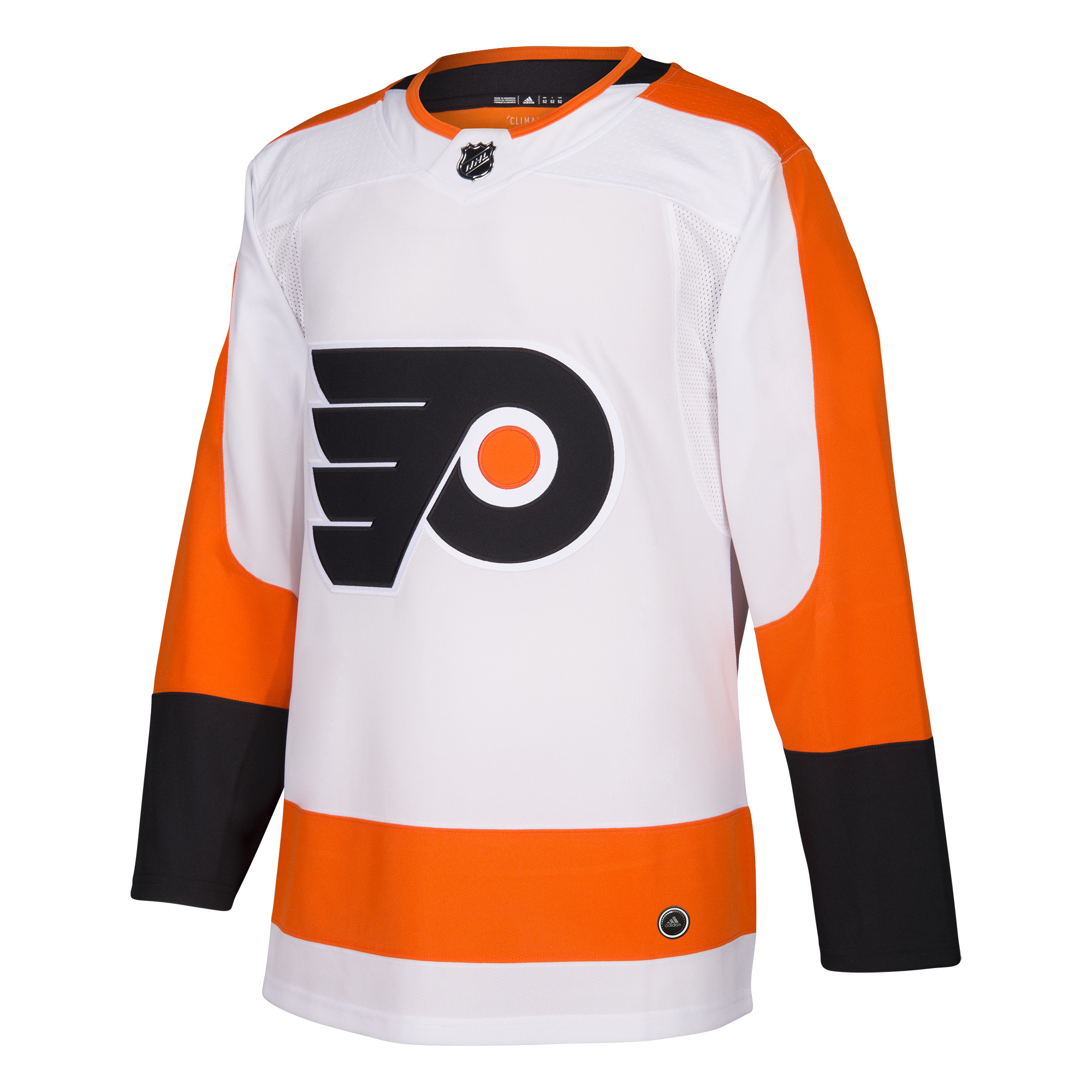 Philadelphia Flyers Men s ADIZERO Away White Jersey by Adidas ... 3b4babae0