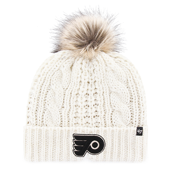 d76a528a7129f Philadelphia Flyers Women s Meeko Pom Knit Cap by  47 Brand - Wells ...