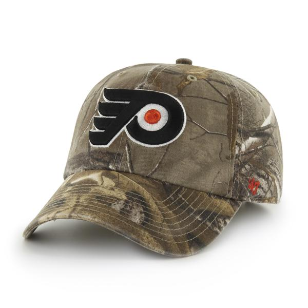 Philadelphia Flyers Men s Realtree Clean Up Cap by  47 Brand - Wells ... b2ebccf80c7