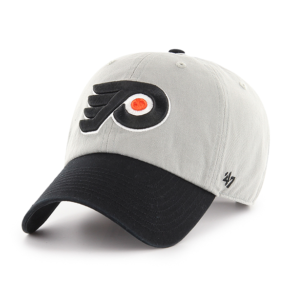 Philadelphia Flyers Men s Two Tone Clean Up Cap by  47 Brand - Wells ... 69f89d75c9ac