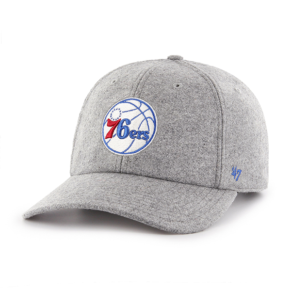 90108768dbb Philadelphia 76ers Men s Nimbus Clean Up Cap by  47 Brand - Wells ...