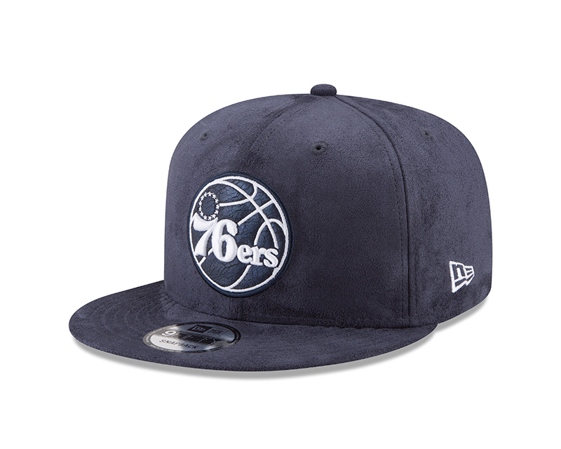 Philadelphia 76ers Men's Earned Edition 9Fifty Snapback Cap by New Era