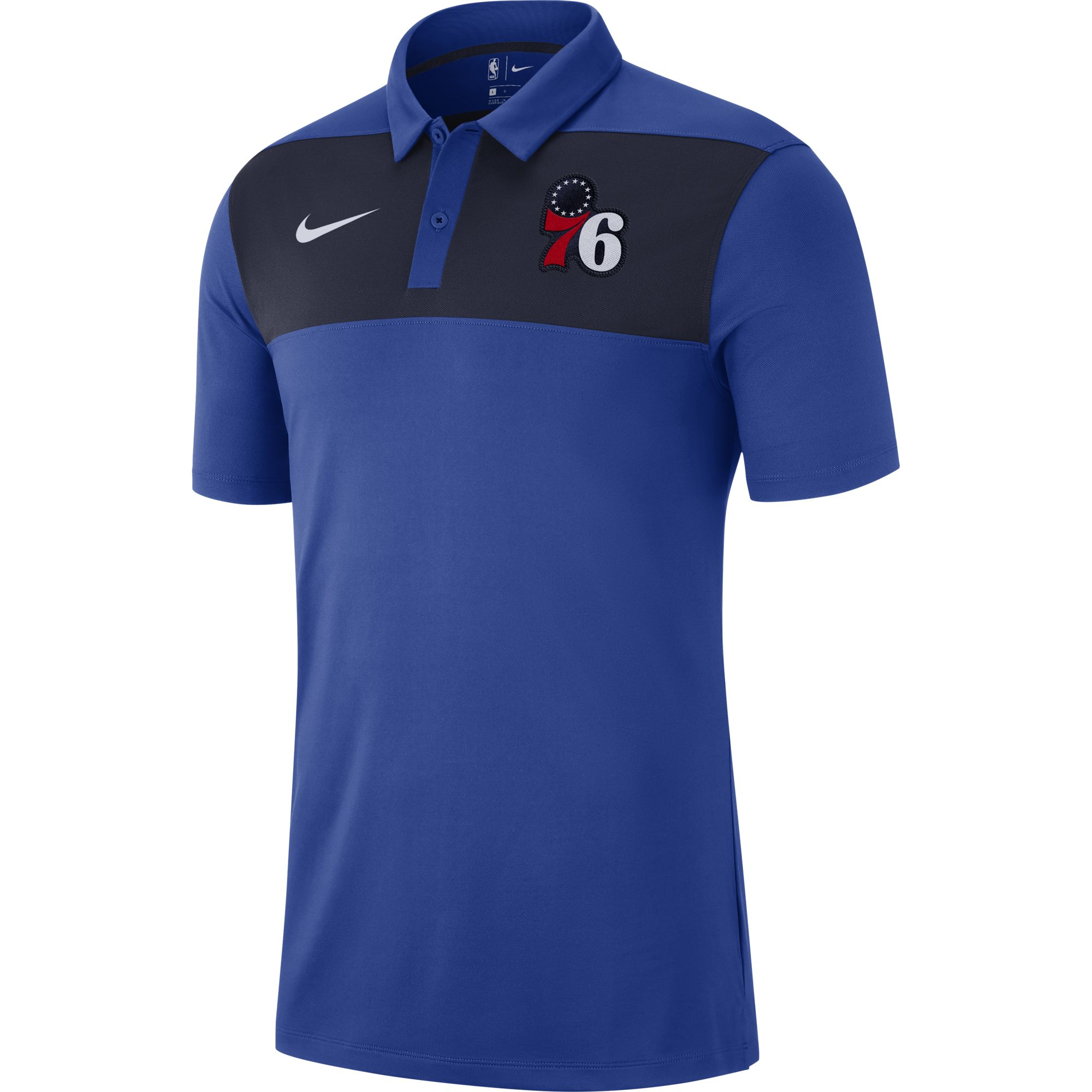 reputable site 4835c 7367d Philadelphia 76ers Men s Classic Rush Polo by Nike - Wells Fargo Center -  Official Online Store