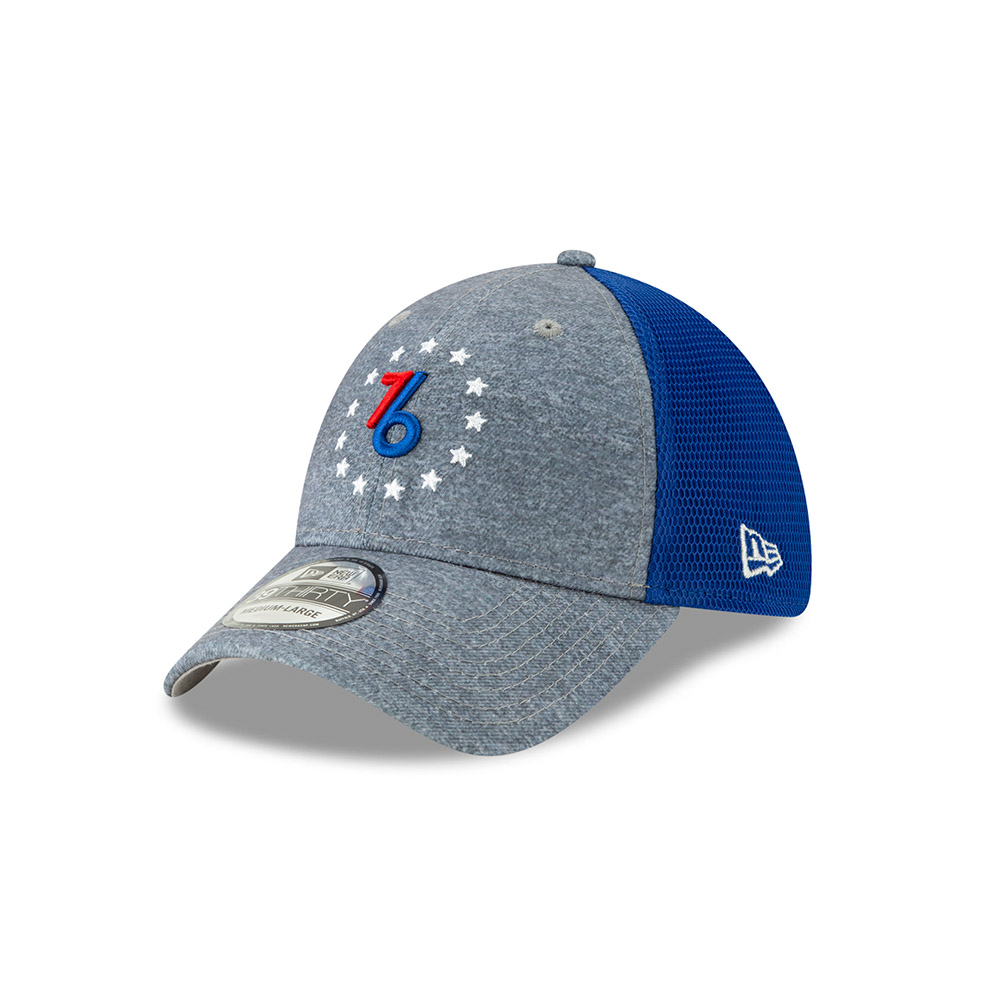 085b2c26d45 Philadelphia 76ers Men s City Edition 39Thirty Cap by New Era ...