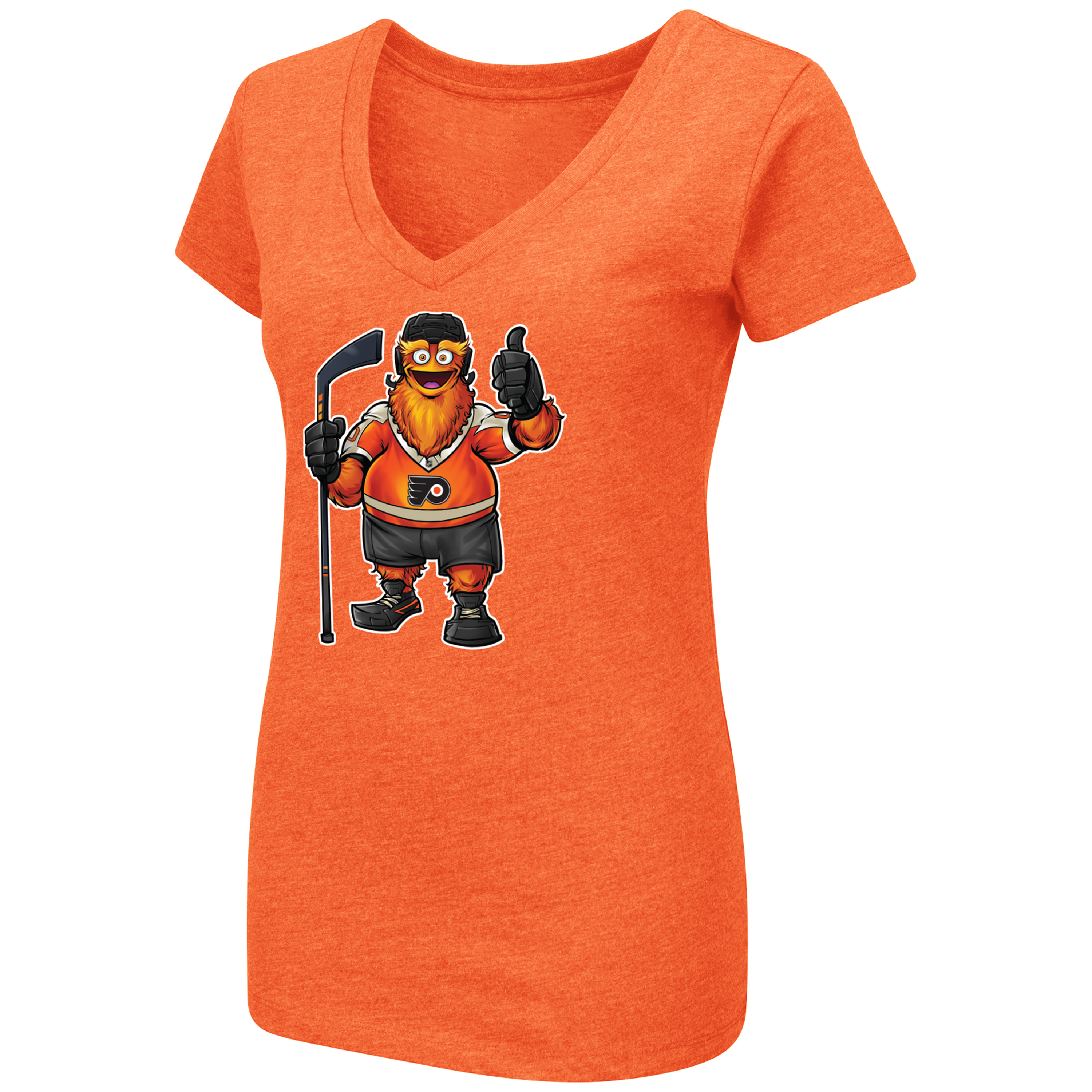 3683139ce Philadelphia Flyers Women s Gritty Thumbs Up Tee by Colosseum ...
