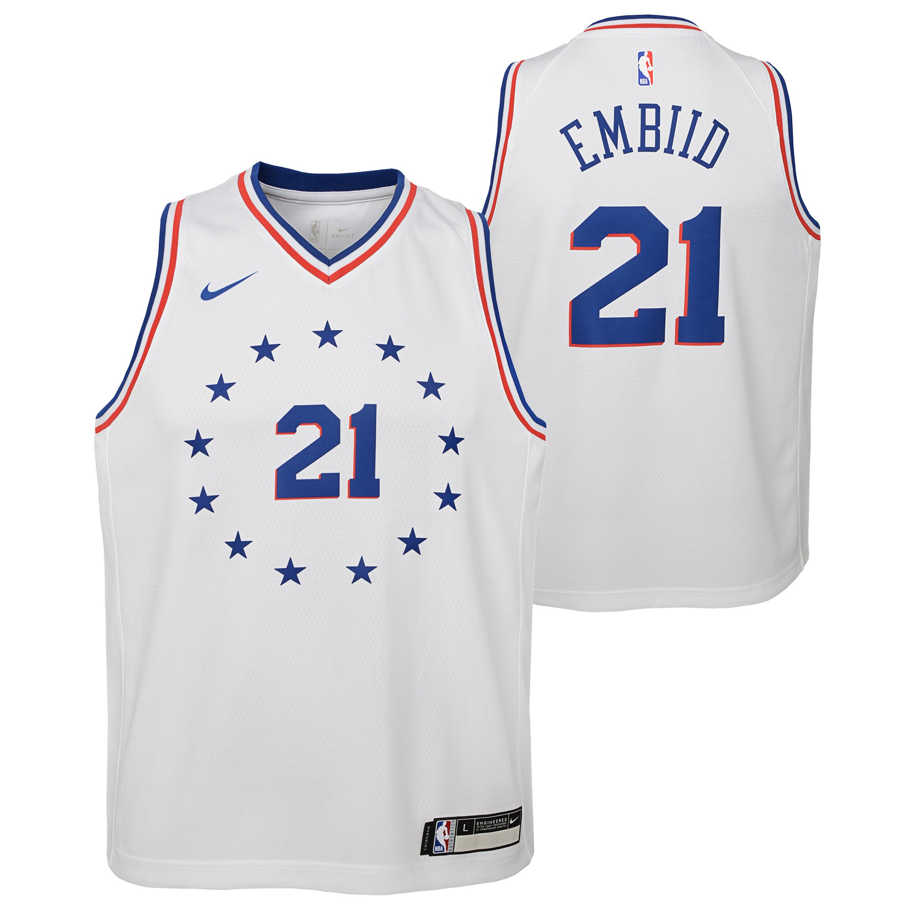 outlet store 019da cd8c2 germany white joel embiid jersey 0e116 dbf68