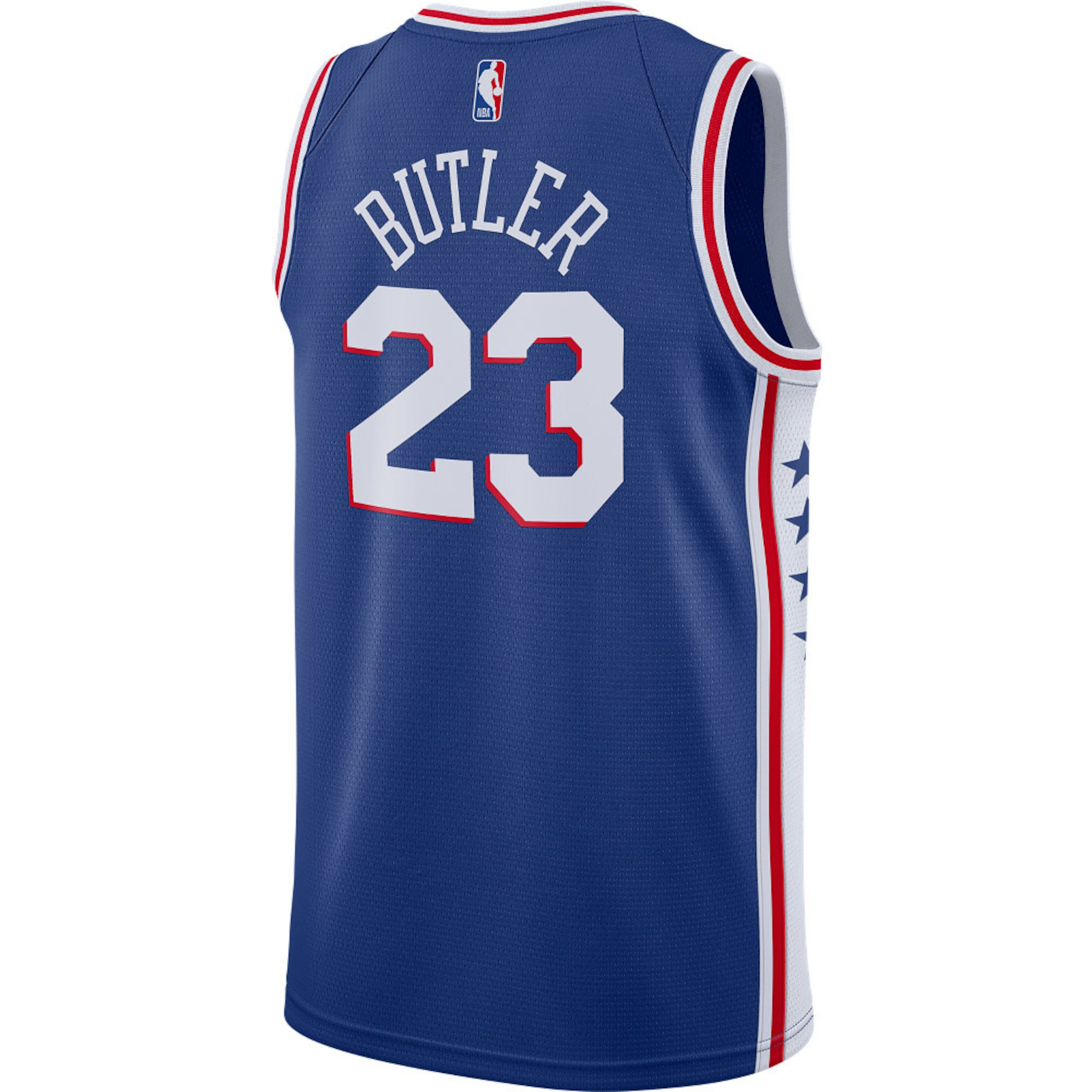 d9c111d4c73 Philadelphia 76ers Men s Blue Jimmy Butler Swingman Jersey by Nike ...