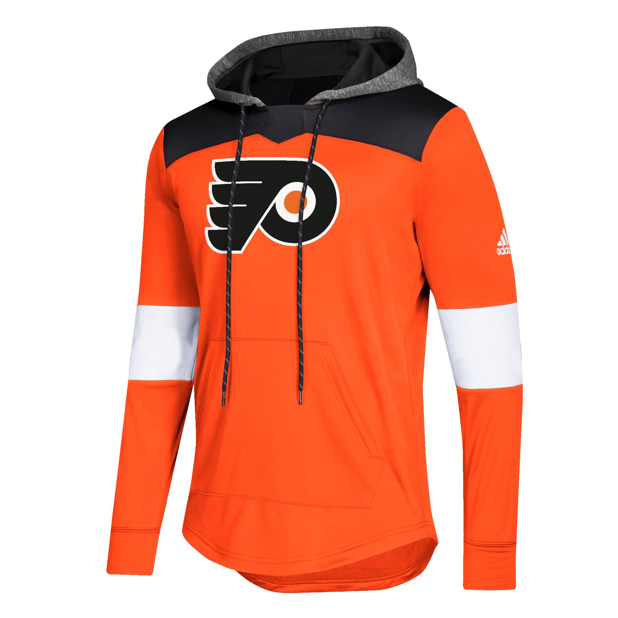455b5d6cc Philadelphia Flyers Men s 2018 Platinum Jersey Hoodie by Adidas ...