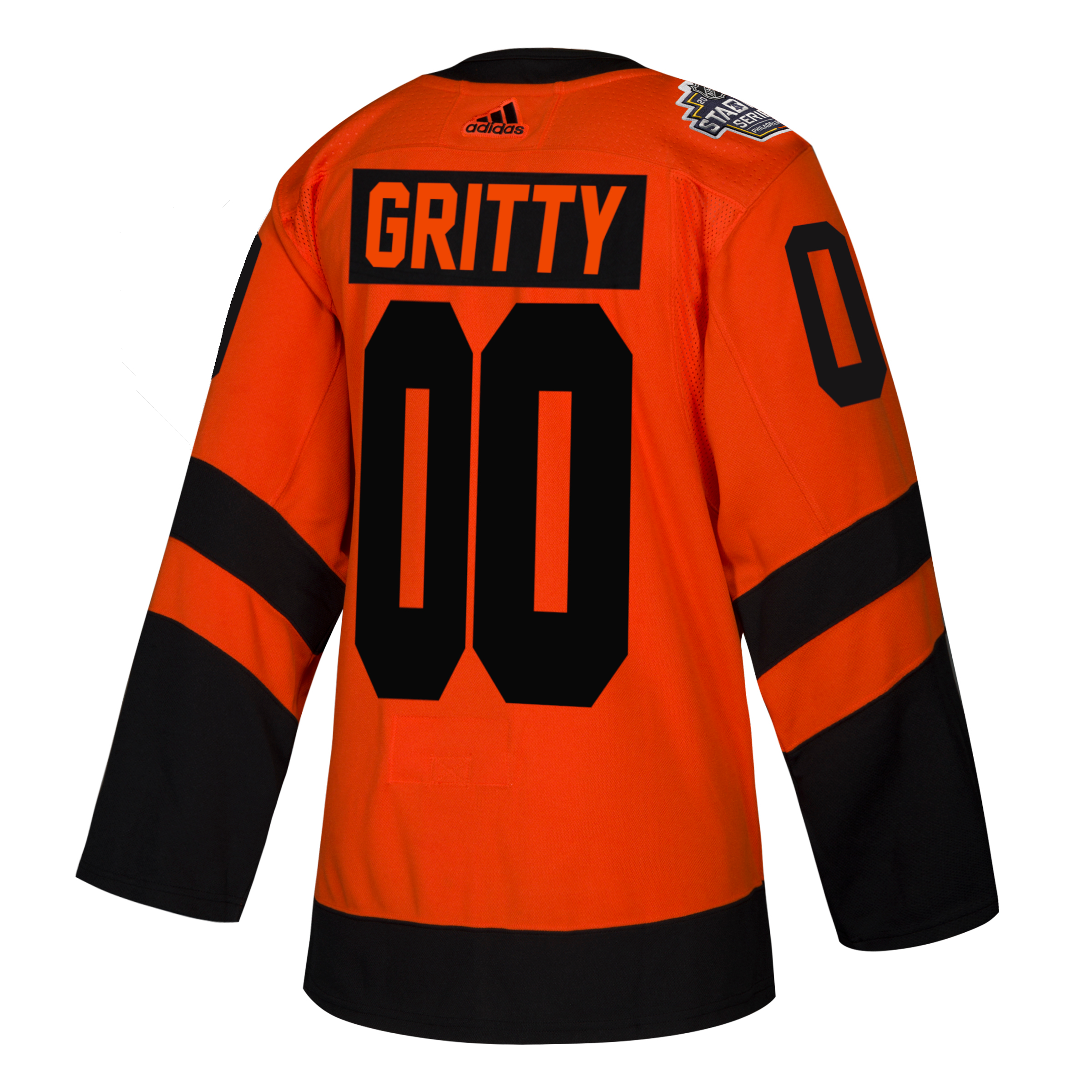 Philadelphia Flyers Men s 2019 Stadium Series Gritty Jersey by Adidas 95a173bf1