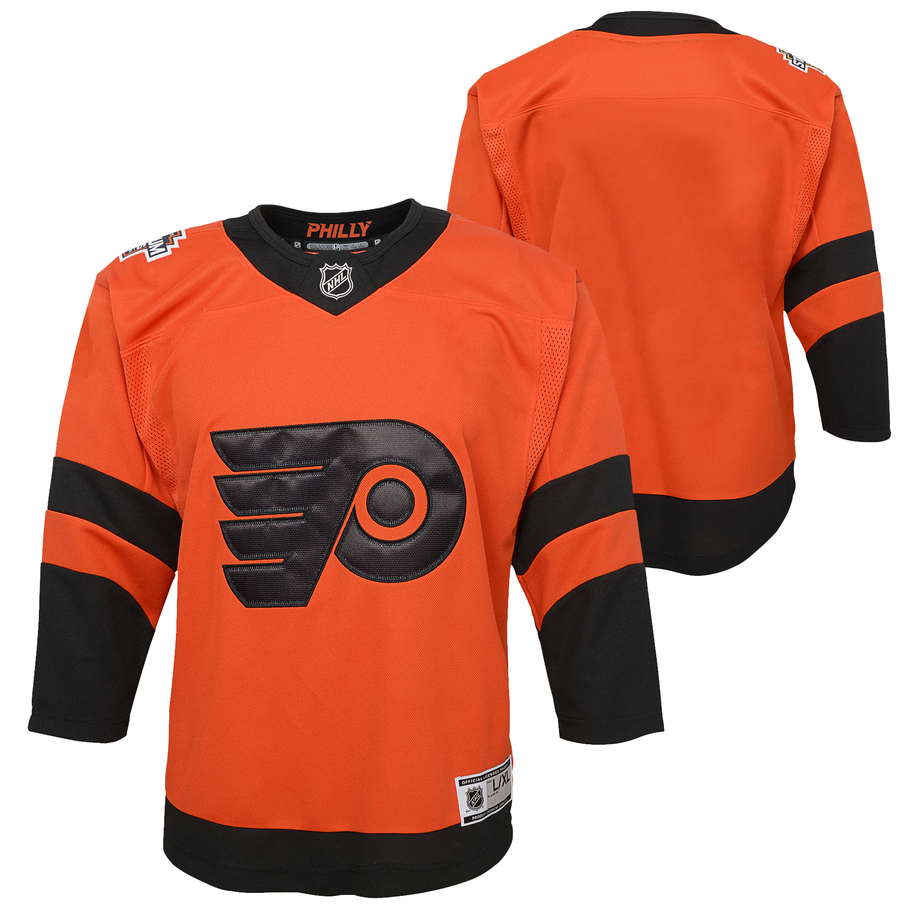 wholesale dealer 14af7 d9152 Philadelphia Flyers Youth Gritty Stare Hoodie by Outerstuff