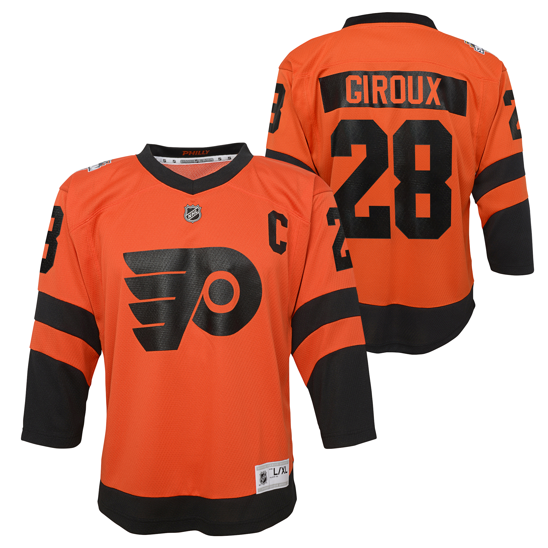 Philadelphia Flyers Youth 2019 Stadium Series Giroux Jersey by Outerstuff 8da653277