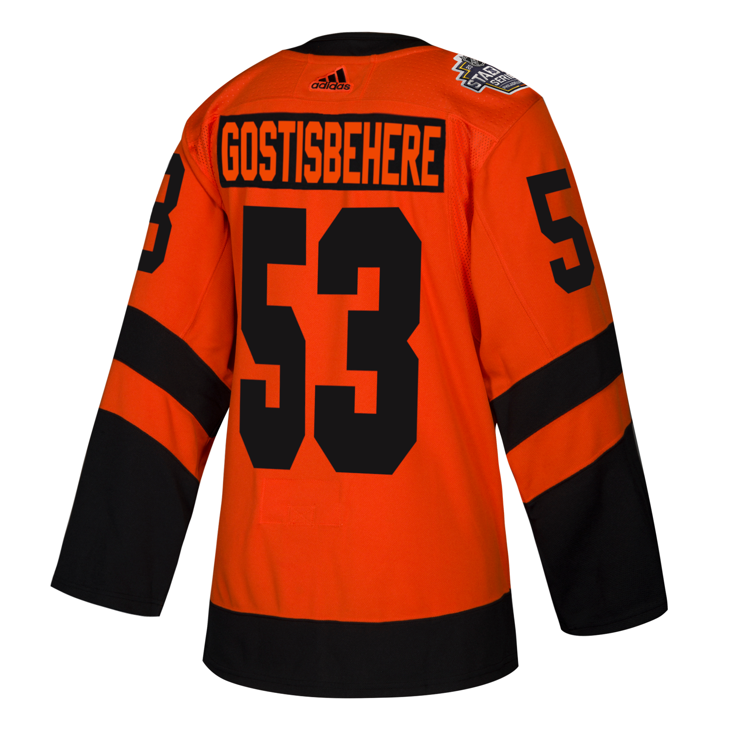 save off 0bda5 cede6 Philadelphia Flyers Men's 2019 Stadium Series Gostisbehere Jersey by Adidas