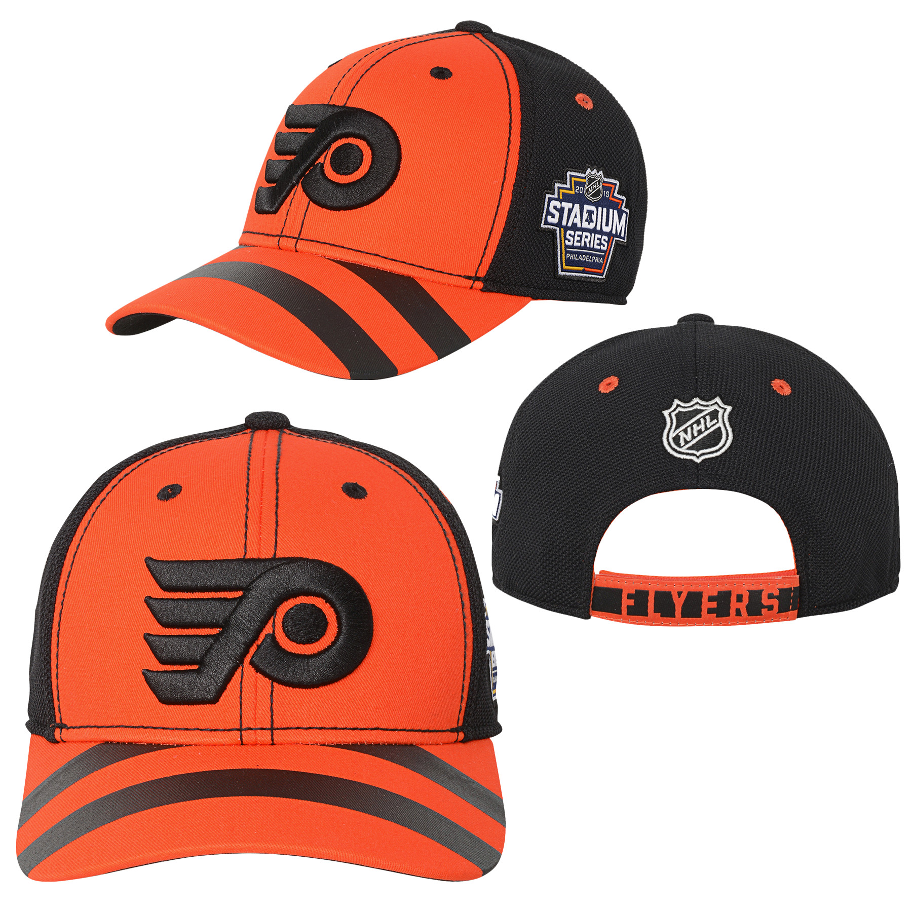 Philadelphia Flyers Youth 2019 Stadium Series Adjustable Cap by Outerstuff 937f157c2