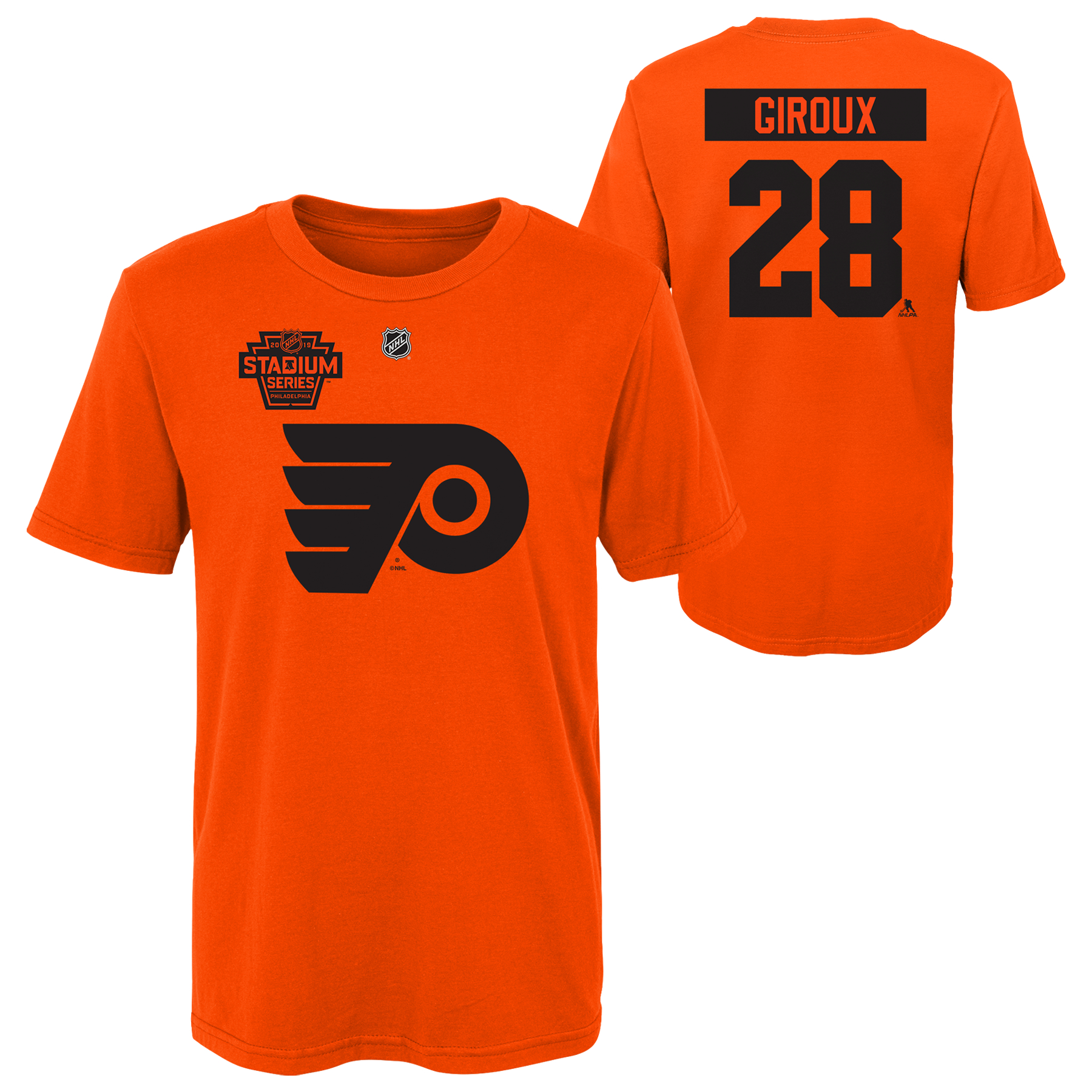 beb865be7e7 Philadelphia Flyers Men's Giroux Player Tee by Adidas - Wells Fargo Center  - Official Online Store