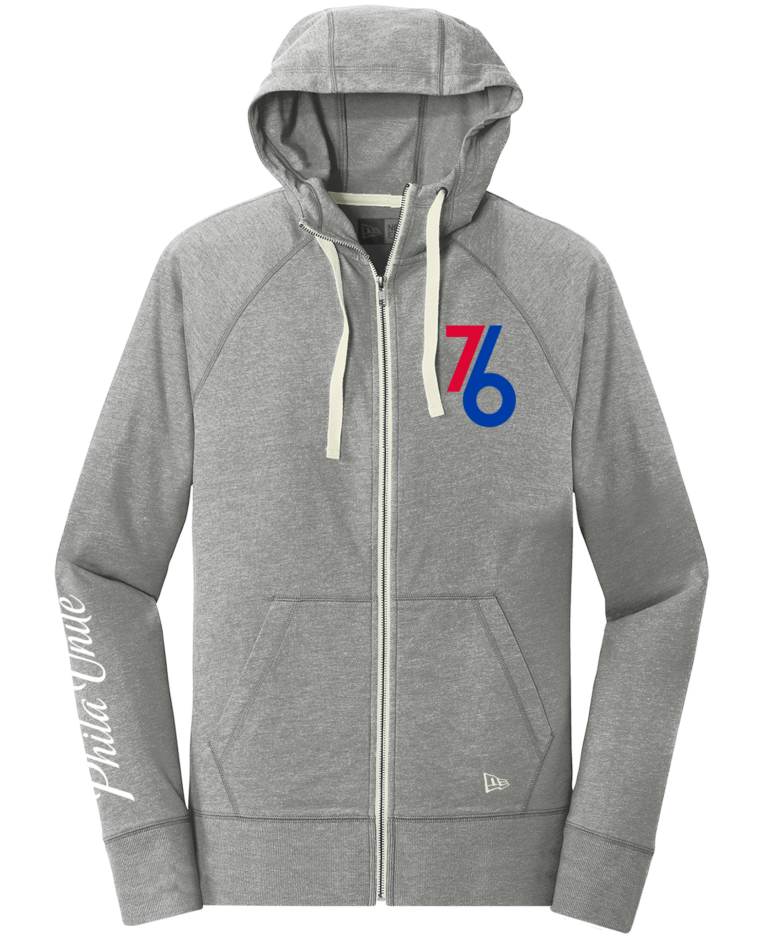 5b6c9fd31 Philadelphia 76ers Men's Phila Unite Influence Full Zip Hoodie by New Era