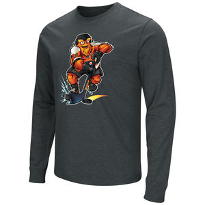 7466289b2  44.99 Philadelphia Flyers Men s Gritty Skating Long Sleeve Tee by  Colosseum.  19.99 Philadelphia Flyers Kid s Gritty Life Tee by Outerstuff