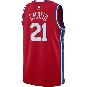 8a9e83acb24 ... Swingman Jersey by Nike.  134.99 Philadelphia 76ers Men s Red Joel  Embiid ...