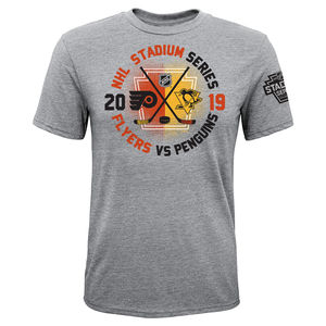 1fad1749614 Philadelphia Flyers Youth 2019 Stadium Series Gostisbehere Player Tee by  Outerstuff. $24.99